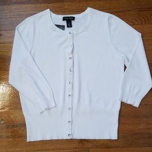 White House Black Market 3/4 Sleeves Cardigan